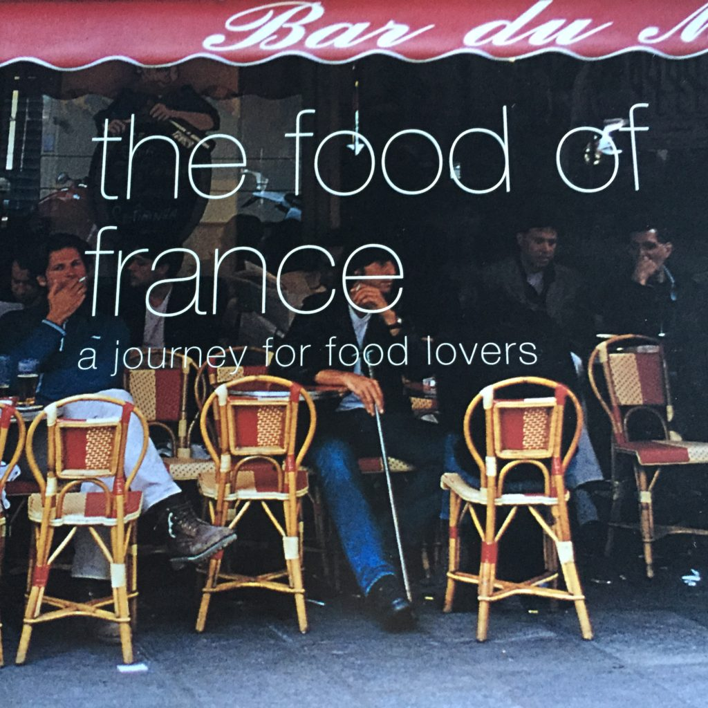 the food of france cookbook cover page
