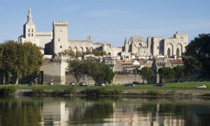 Reflections on water at Avignon