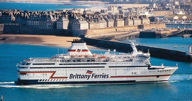 brittany ferry photo