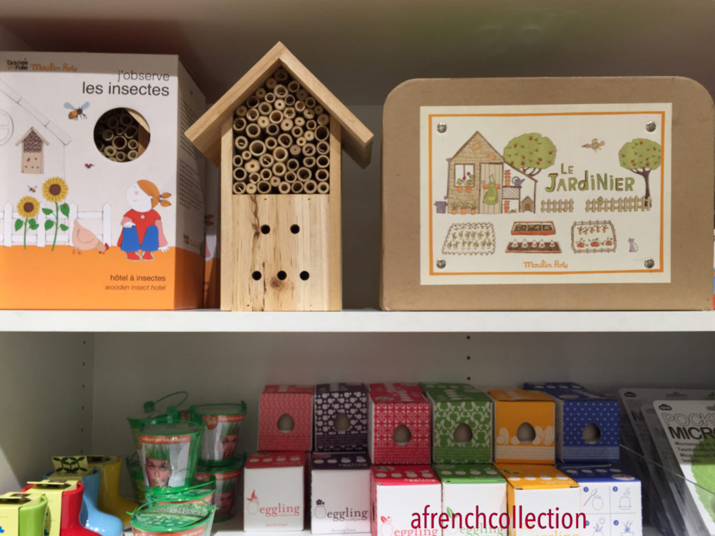 Children's insect house activities | a french collection