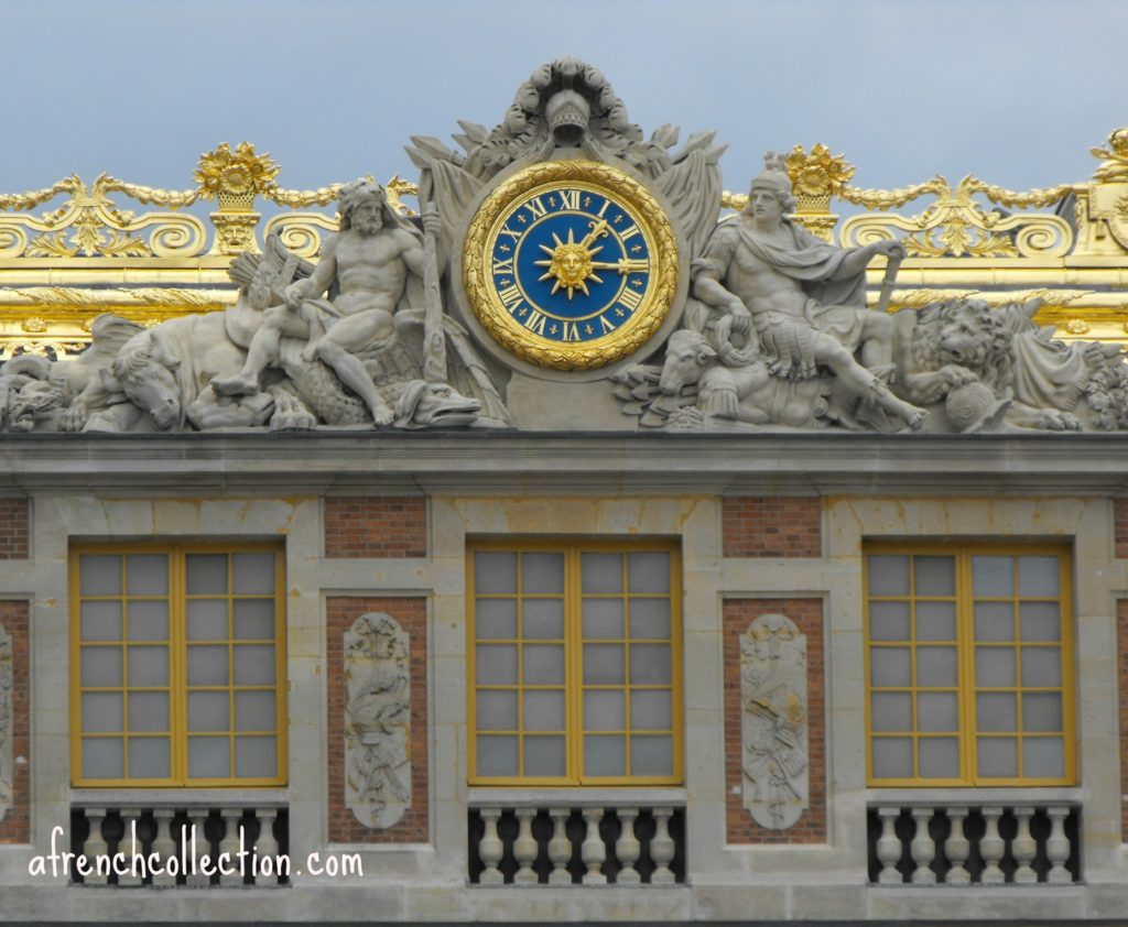Versailles - Clock of Marble courtyard