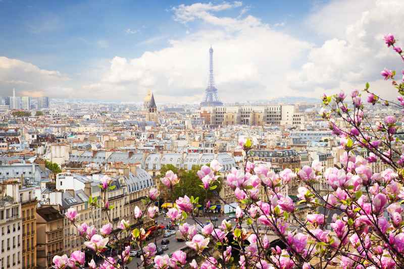 Image result for paris in springtime