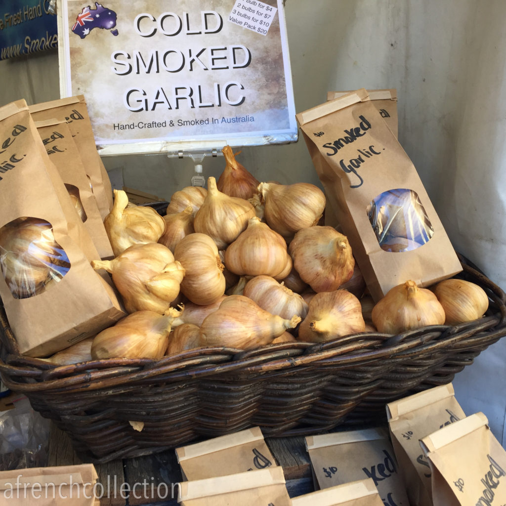 Smoked garlic | a french collection