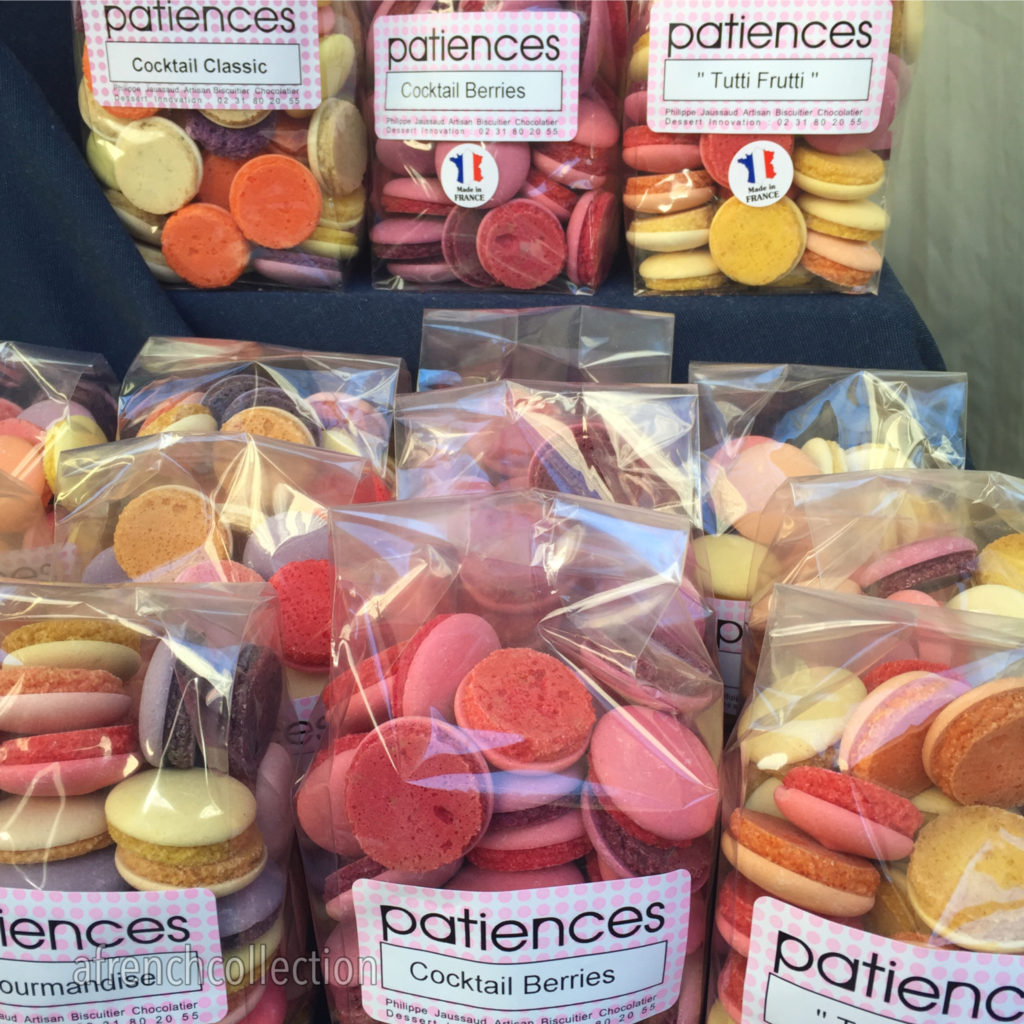 French patiences biscuits