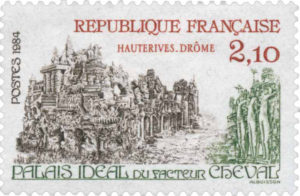 Palais Ideal postage stamp | a french collection