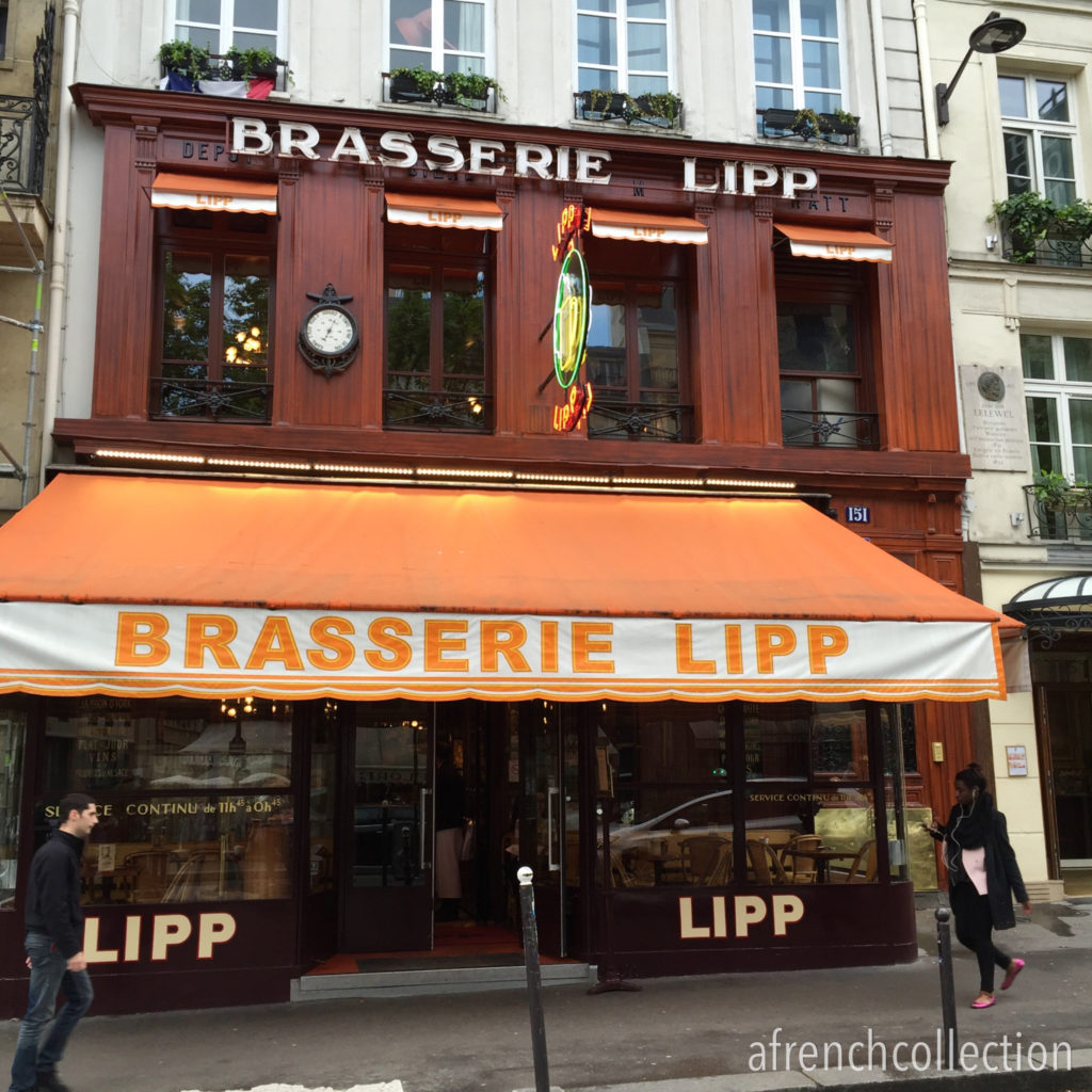 Brasserie Lipp Paris | a french collection