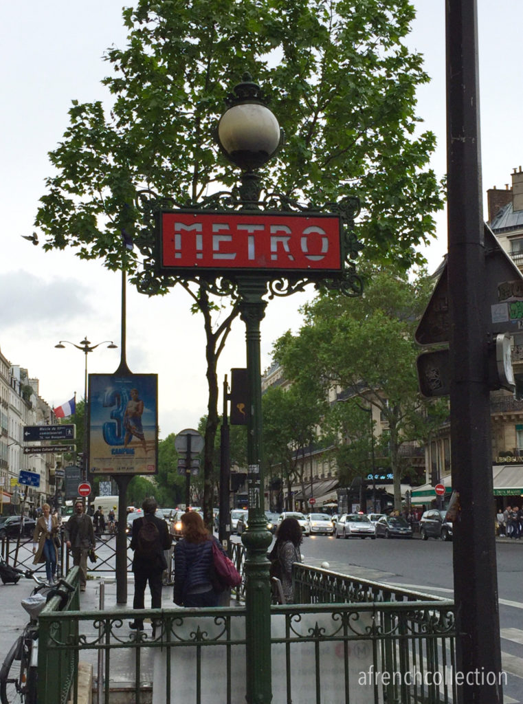Paris metro sign | a french collection
