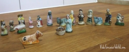 French cooking figurines | a french collection
