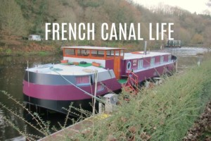 Canal canalboat text