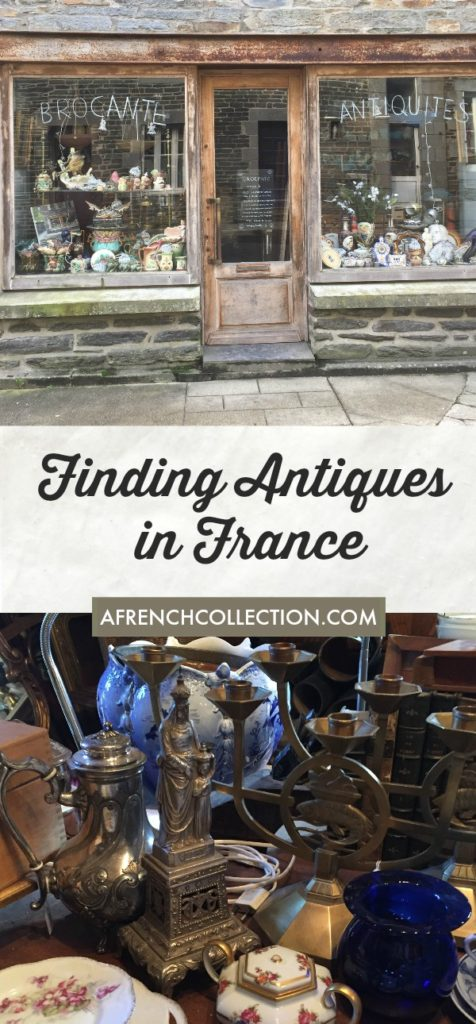 Brocante store and antiques
