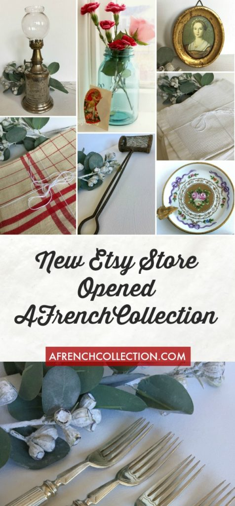 French linens, silverware and china
