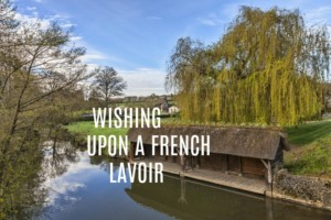 French lavoir in central France text