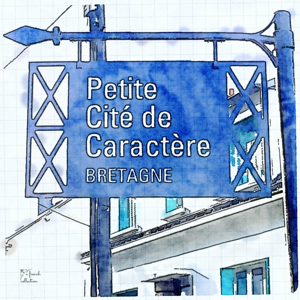 Sign in Brittany of Petite Cities of Character