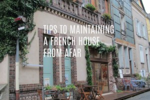 Maintain French Home text