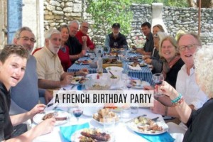 A French Birthday Party text