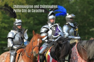 Knights, Normandy, chateau text