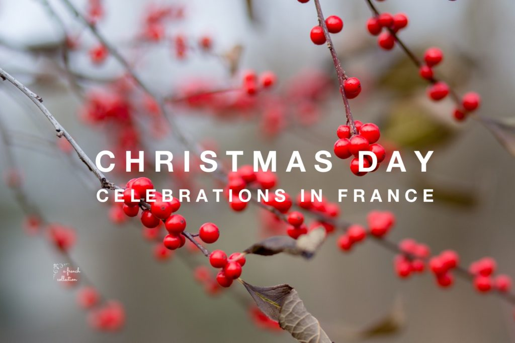 Christmas Day In France.Christmas Day In France Logo A French Collection